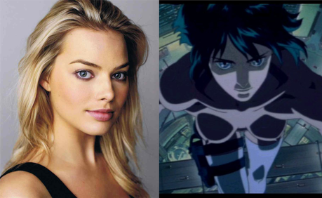 Margot Robbie Podría Protagonizar El Live-Action De Ghost In The Shell