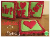 Galletas decoradas Stencil