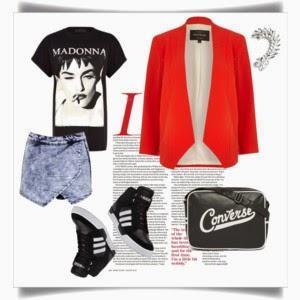 Weekend look: Madonna T-shirt
