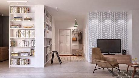 Un loft de estilo escandinavo en San Petersburgo | A scandinavian style's loft in Saint Petersburg