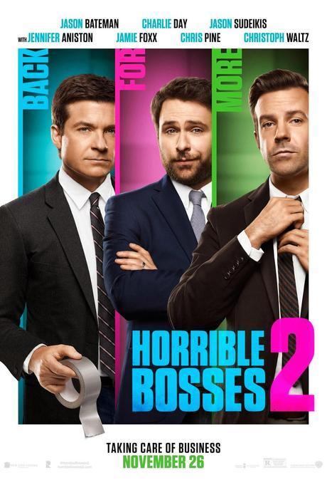 Primer Póster + Nuevo Trailer De Horrible Bosses 2