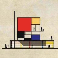 Archist Piet Mondrian