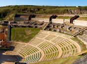 colaboración entre arquitectos arqueólogos devuelve esplendor teatro romano Clunia Tiermes
