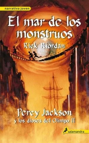 Percy Jackson y los dioses del Olimpo: El mar de los monstruos de Rick Riordan