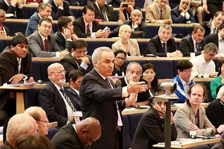 Garry Kasparov sobre las elecciones de la FIDE
