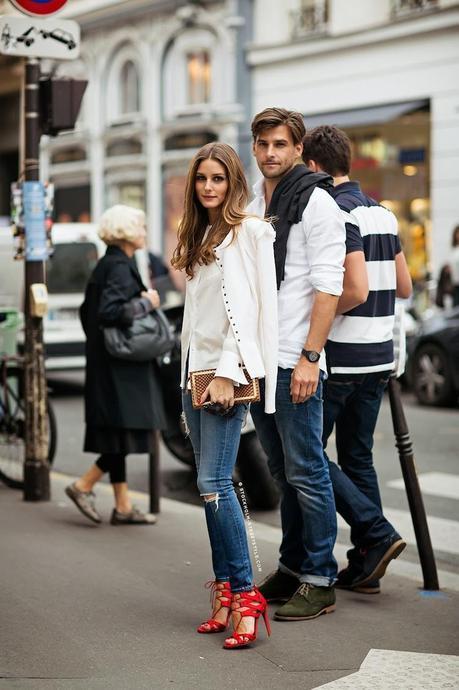 Olivia-Palermo-Red-Aquazzura-Shoes-AG-Jeans