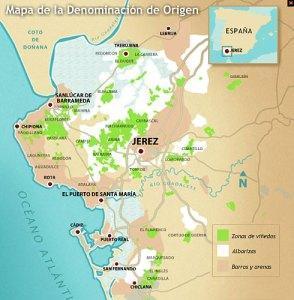 Marco de elaboración de los vinos de Jerez