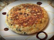 Tortilla berenjena atún