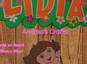 Dora Exploradora Lidia este bonito Cartel Foami
