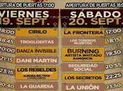 Iberia Festival: Burning Ramoncín, Secretos, Dani Martín, Unión, Danza Invisible, Toreros Muertos, Orquesta Mondragón...