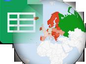 Cómo crear Mapa Google Sheets