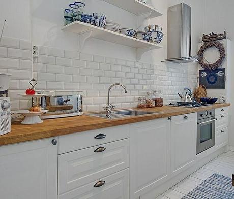Azulejos metro en el dise o de la cocina paperblog - Tipos de azulejos para cocina ...