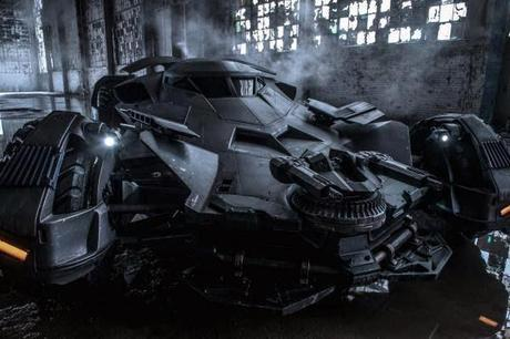Zack Snyder Comparte Una Nueva Imagen Del Batmobile Para Batman V Superman: Dawn Of Justice