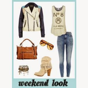 Weekend look: Perfecto leather jacket