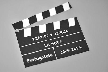 Iratxe & Nerea. Film noir theme wedding