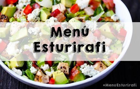 Menú semanal Esturirafi #descargable #alimentacion #recetas