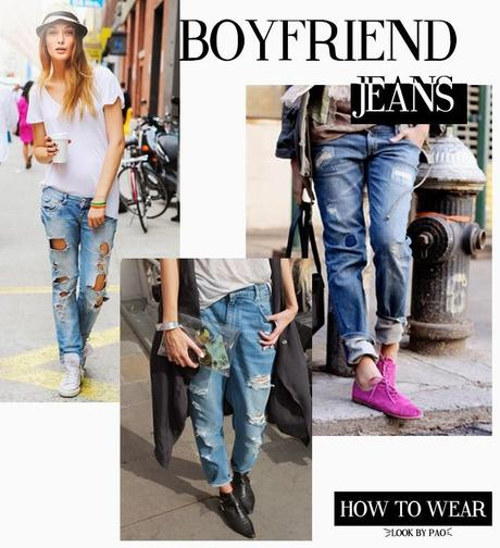 How to Wear - Boyfriend Jeans -