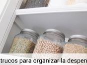 trucos para organizar despensa mantener orden