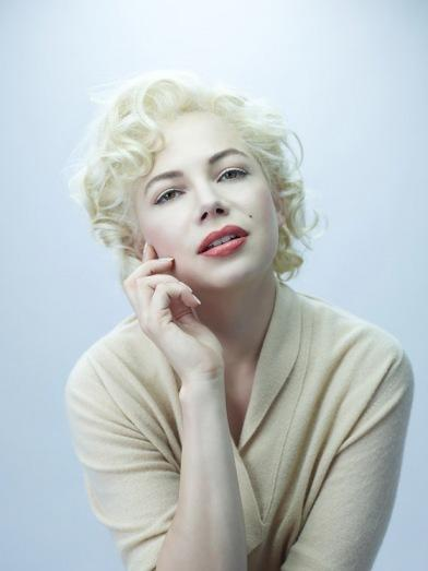 Michelle Williams como Marilyn Monroe