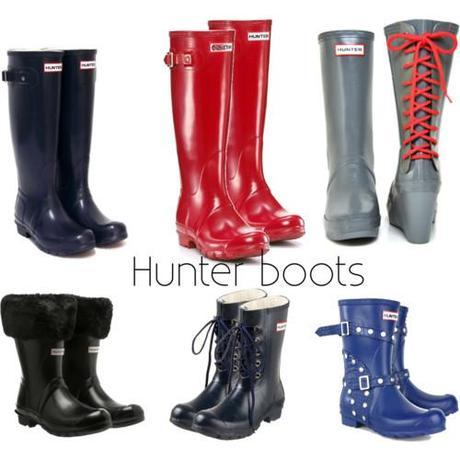 hunter boots for rainy days