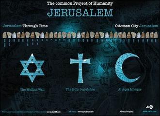 Visita virtual: lugares sagrados en Jerusalem