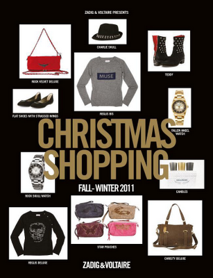 Christmas Shopping by Zadig and Voltaire