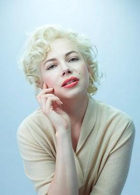 Así lucirá Michelle Williams como Marilyn Monroe en 'My Week with Marilyn'