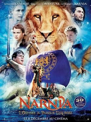 Nuevo póster y trailer de 'The Chronicles of Narnia: The Voyage of the Dawn Treader'