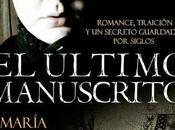 último manuscrito Maria Correa Luna