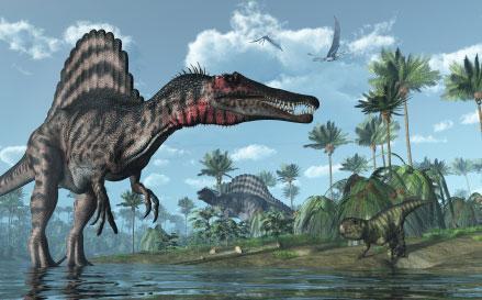 El Michael Phelps de los dinosarios.