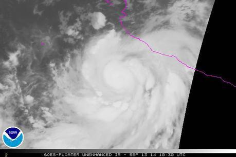 México bajo Alerta máxima por la formación del huracán