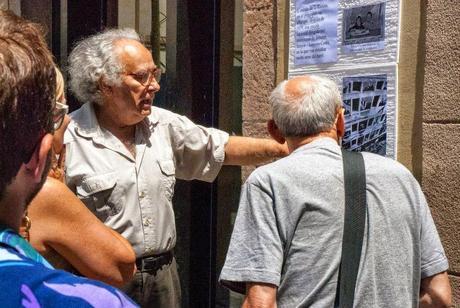 ALEXANDRE GRIMAL NAVARRO,ARQUEÓLOGO, HISTORIADOR,PINTOR Y FILÓSOFO, BARCELONA, 13-09-2014...!!!