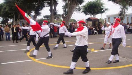 Las Fiestas Patrias en el Hospital Larco Herrera de Lima, Perú.