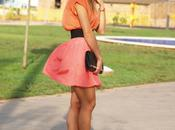 Outfit: Orange coral