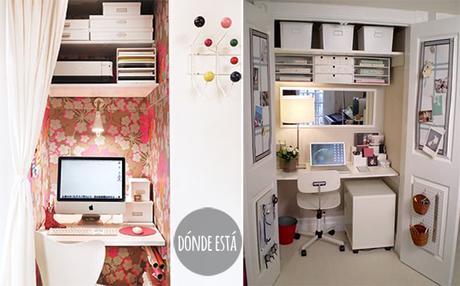 5 + 5 ideas para crea tu propio espacio para trabajar en casa ...
