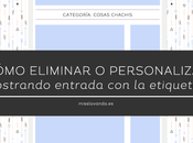 "Tutorial Blogger: Quitar Modificar ""Mostrando entradas etiqueta..."""