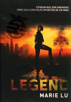 Reseña: Legend, Marie Lu