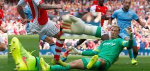 Hart vs Arsenal