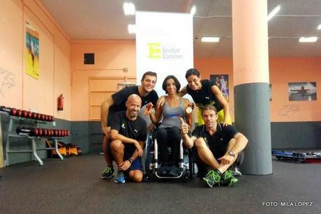 Mila López regresa de Barcelona con dúas medallas de ouro