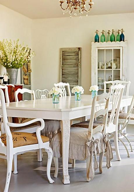 Casa estilo vintage en illinois vintage style house in for Vintage style dining room ideas