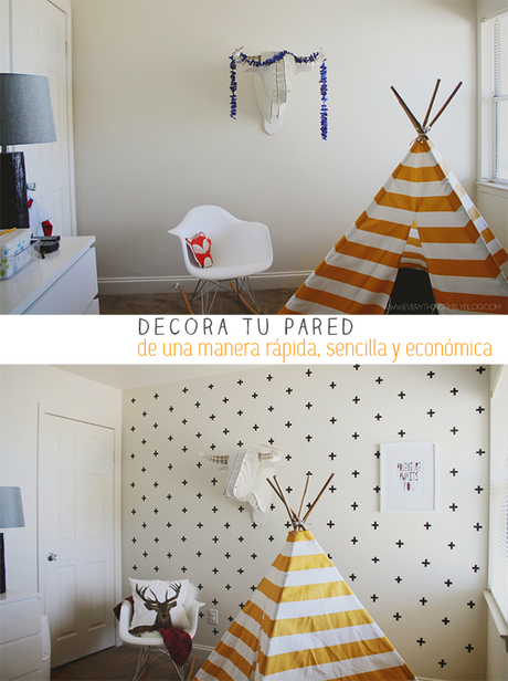 Decora tu pared de gotel paperblog - Pared gotele ...