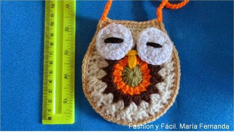 Un buho a crochet para muchos usos (A crocheted owl with many uses ...