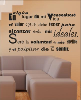 Vinilos con frases personalizadas paperblog for Frases en vinilo para dormitorio