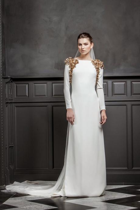10 vestidos de novia sencillos, elegantes y sofisticados - paperblog