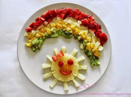 Estrategia para conseguir que los ni os coman frutas y - Macedonia de frutas para ninos ...