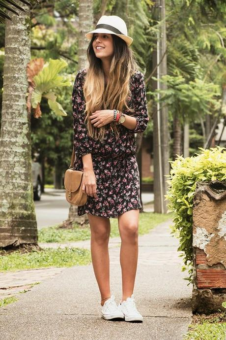 3 Days – 3 Ways //Floral Dress//