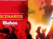 ¡Siente ritmo música #EscenariosMahou!
