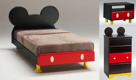 Decoración inspirada en Mickey Mouse