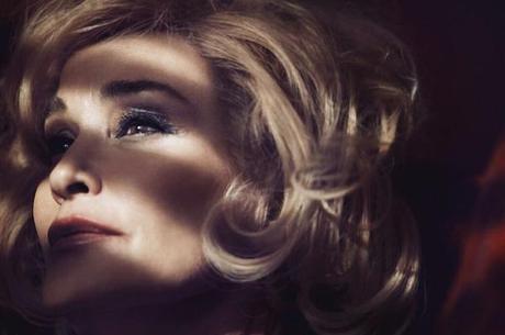 La actriz Jessica Lange es la imagen de la campaña de Marc Jacobs Beauty.