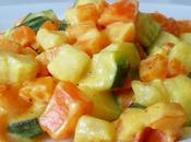 Verduras curry